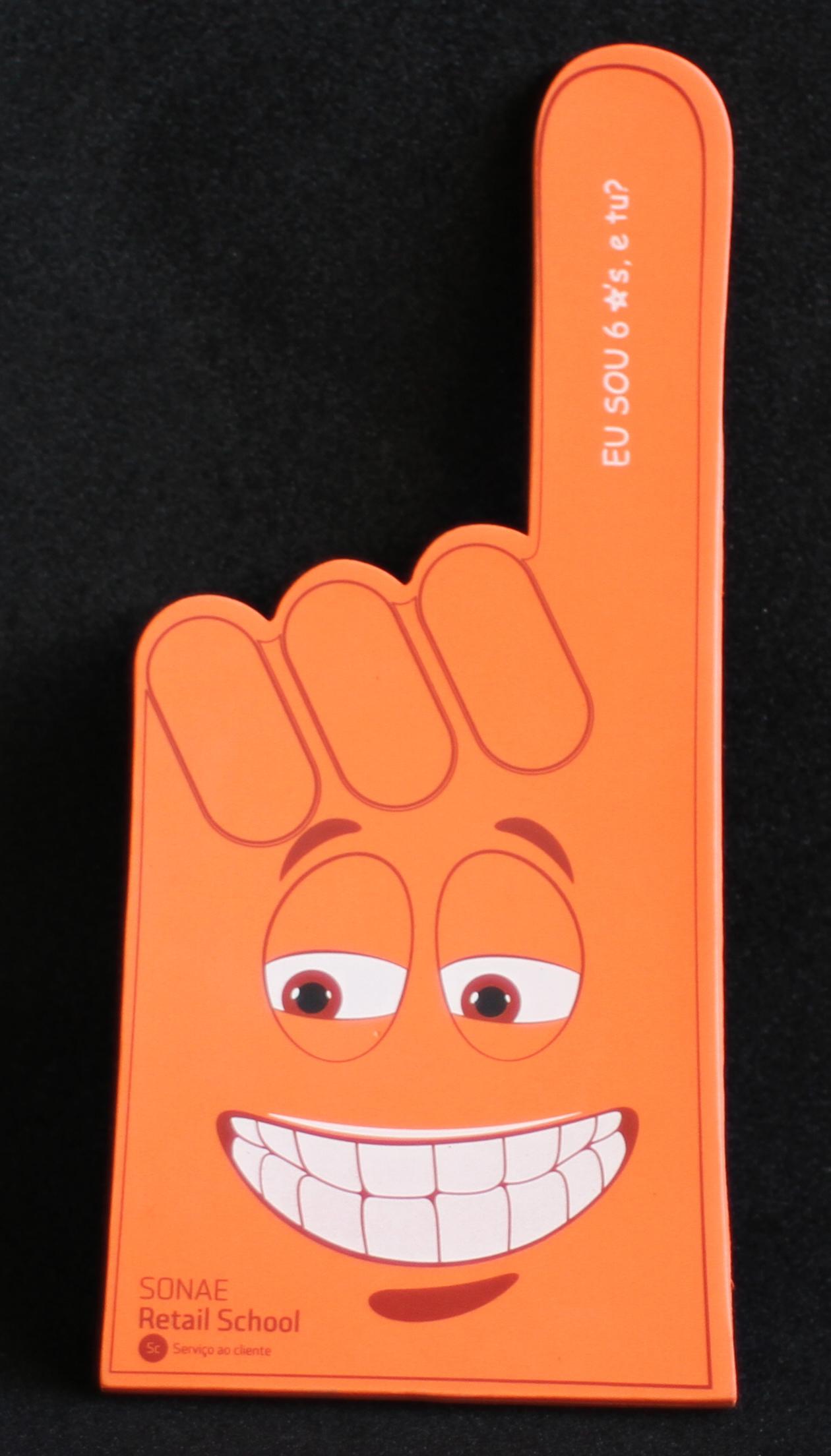 Mão indicadora Image